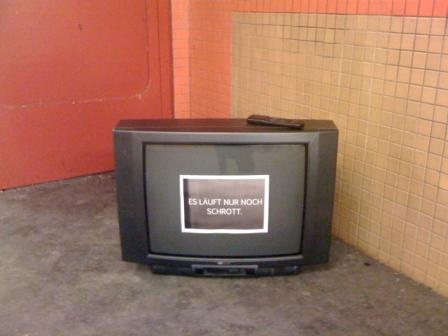 Schrott im TV