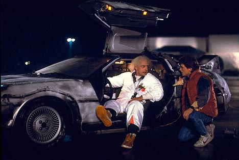 Doc Brown und Marty McFly