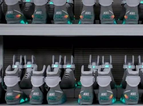 bttf boots Zurück in die Zukunft Bringt Nike Martys Boots?