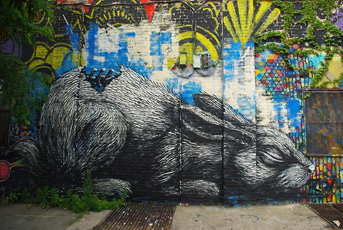 roa2 Interview mit Street Artist ROA auf thegap.at